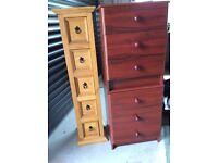 Six drawer unit