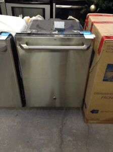 Brand New Stainless Steel GE 'Cafe' Dishwashers