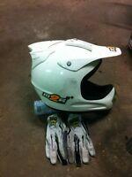 M2R mx helmet