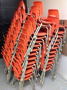 LOTS OF STACKABLE PLASTIC KIDS CHAIRS Kitchener / Waterloo Kitchener Area image 1