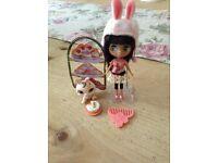 Littlest pet shop Blair bunny cakes set