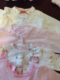8 new born baby grows