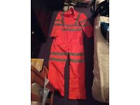 Overalls coverall reflective brand new