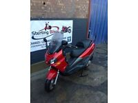 PIAGGIO X9125 SCOOTER 10K LOW MILEAGE 1 YEAR MOT - STERLING