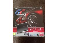 PS3 GT5 Edition with Box, Controller and 3 Games