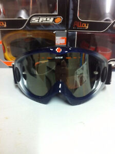 SPY Motor cross goggles, assorted colors, new in box