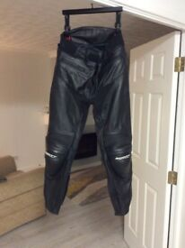 Ladies motorcycle leather trousers