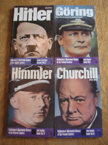 Ballantine's War Leaders Series, Hitler Goring Himmler Churchill