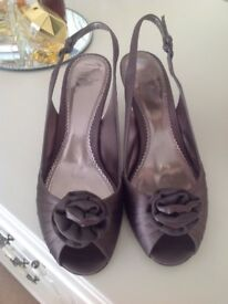 Laura Ashley Taupe Sandles