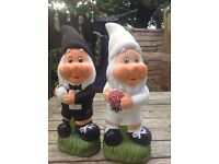 Wedding Bride & Groom Gnomes 🖌🎁🎨