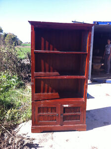 INDONESIAN SHELVING UNIT FOR SALE London Ontario image 2