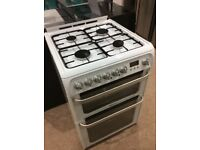 Hotpoint HUD61P Gas Cooker