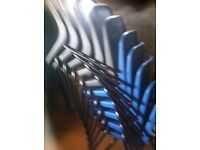 Stacking children s chairs school group etc plastic x 20