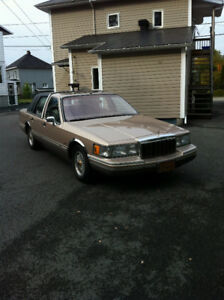 1992 Lincoln Town Car Berline