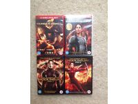 The Hunger Games Series of DVD's (4 in total)