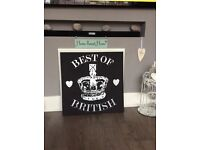 Home accessory wall canvas large