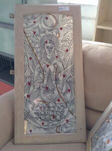 Hand Drawn Glass Cupboard Doors HFHGTA Studio District