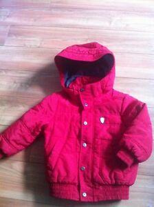 Manteau hiver rouge  mexx gr 3-4 ans
