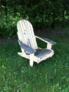 Wooden adirondack chair London Ontario image 3