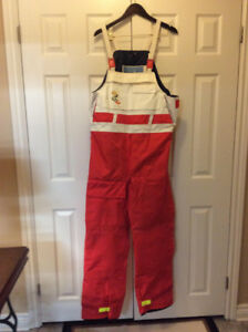 """Pee in Your Pants"" - Helly Hansen - Foul Weather Gear Overalls"