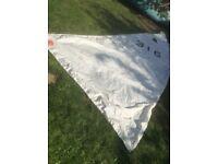 Set of sails for GP14 Sailing dinghy