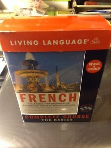 FRENCH THE BASICS COMPLETE COURSE LIKE NEW