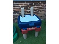 Little Tikes Easy Store Sand & Water Table Excellent Condition