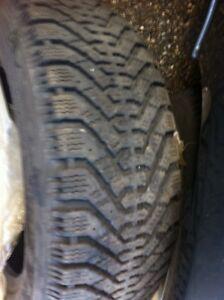 195/65/15 Goodyear Nordic winter tires for sale  Kitchener / Waterloo Kitchener Area image 2