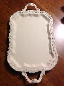 Vintage footed serving tray , French country Belleville Belleville Area image 3