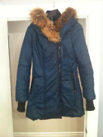 Authentic Sicily XS Coat Down Filled Real Fur