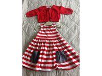 'NEXT' Dress & cardigan. Age 18-24 months