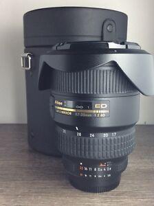 Nikon 17-35mm AF-S 2.8D Lens