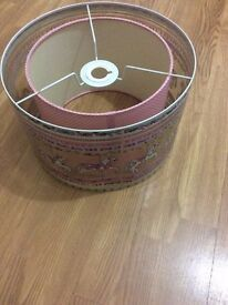 Bargain price- £1- Lampshade perfect for girls room