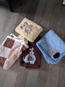 4 baby blankets