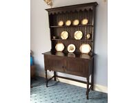 Antique Dark Wood Dresser