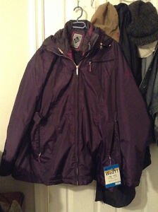 Winter Jacket Size 18 Double Layer