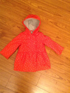Carter's 18 month girls spring coat
