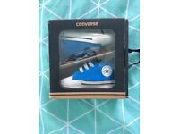 Official Converse baby shoes blue