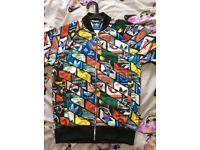 adidas Originals Track Jacket In All Over Print AB7683