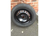 Renault Megane Mk2 Spare Wheel with Continental Tyre