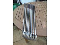 Set Of Callaway Big Bertha Steelhead X14 Graphite Shaft 3-Sw