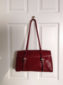Red Leather Purse bought in Italy