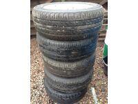 Tyres x5 225/55/17 on freelancer alloys