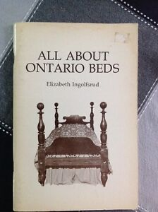 All About Ontario Beds book for the antique collector