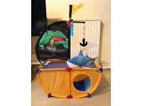Pirate Ship Cat or Kitten Bed/Den/Activity Centre