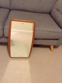 Vintage retro mirror