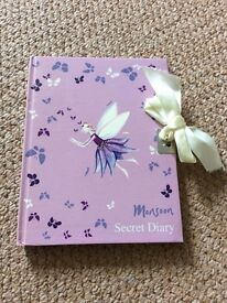 Kids Secret Fairy Diary and a Chat Noir Note book from £2.00