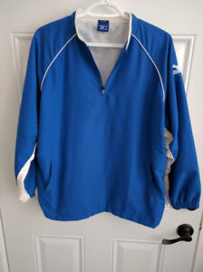Mizuno Long Sleeve Baseball Jacket Youth XL