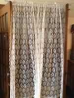 Lacy Sheer Curtains