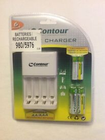 AA and AAA Battery Charger